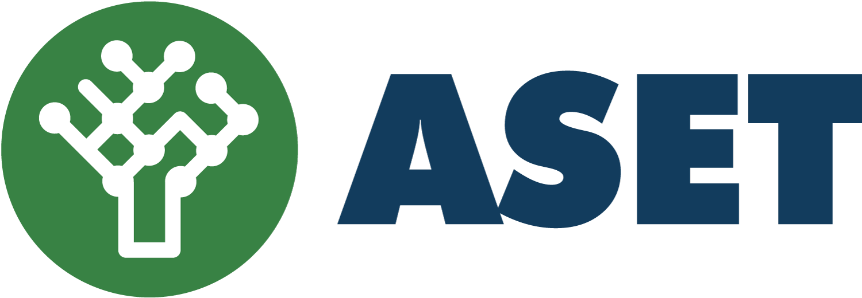 Logo orizzontale ASET